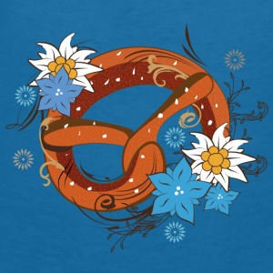 A Bavarian pretzel  Accessories - Women's V-Neck T-Shirt