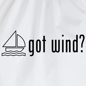 sa12 sailing got wind - Drawstring Bag