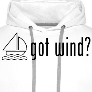 sa12 sailing got wind - Men's Premium Hoodie