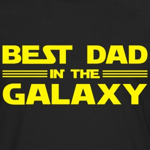 Best Dad In The Galaxy T-Shirts - Men's Premium Longsleeve Shirt