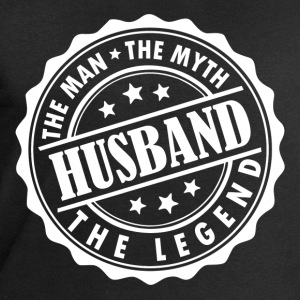 Husband-The Man The Myth The Legend T-Shirts - Men's Sweatshirt by Stanley & Stella