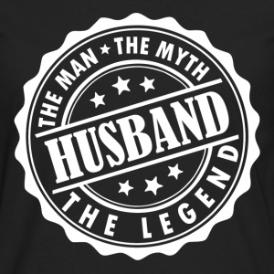 Husband-The Man The Myth The Legend T-Shirts - Men's Premium Longsleeve Shirt