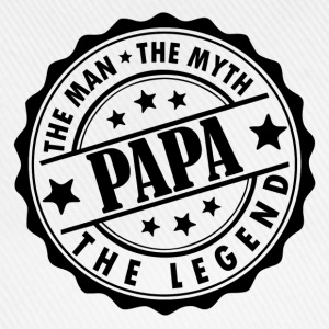 Papa-The Man The Myth The Legend T-Shirts - Baseball Cap