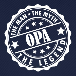 Opa-The Man The Myth The Legend T-Shirts - Baseball Cap