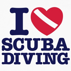 sc06 i love scuba diving - Men's Premium Longsleeve Shirt