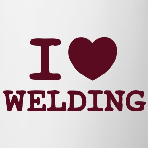 I Love Welding (One Colour) - Mug