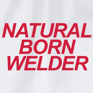 Natural Born Welder - Drawstring Bag