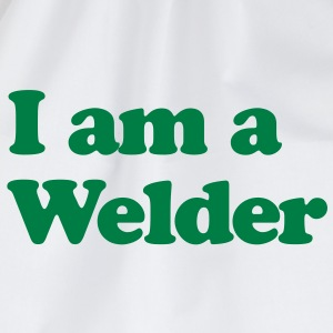 I am a Welder - Drawstring Bag