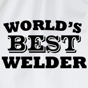 World's Best Welder - Drawstring Bag