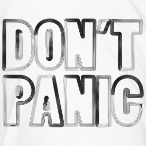don't panic cup - Men's Premium T-Shirt