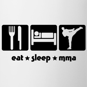 EAT SLEEP MMA - Mug