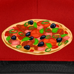 pizza T-Shirts - Snapback Cap