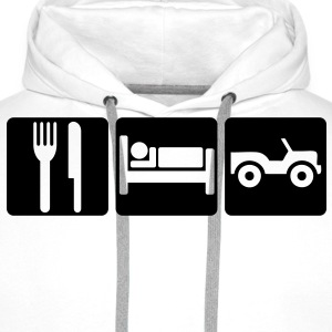 EAT SLEEP OFF-ROAD 2 - Men's Premium Hoodie
