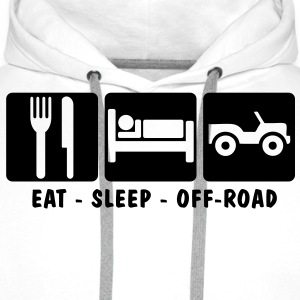 EAT SLEEP OFF-ROAD 3 - Men's Premium Hoodie