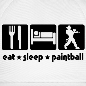 EAT SLEEP PAINTBALL - Baseball Cap