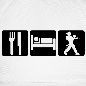 EAT SLEEP PAINTBALL 2 - Baseball Cap