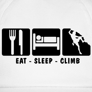 EAT SLEEP CLIMB 3 - Baseball Cap