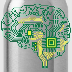 Android brain pcb T-Shirts - Water Bottle