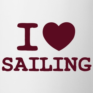 I LOVE SAILING - ONE COLOUR - Mug