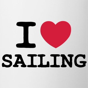 I LOVE SAILING - 2 COLOUR - Mug