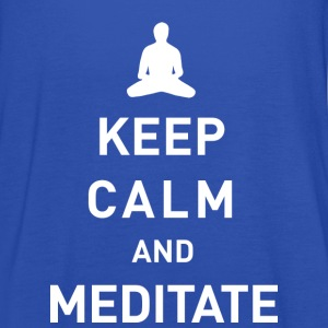 Keep calm and meditate - Frauen Tank Top von Bella