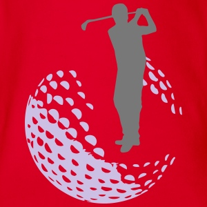 Golf - Golfer T-Shirts - Baby Bio-Kurzarm-Body