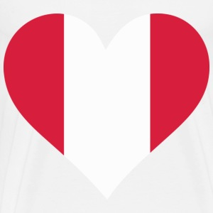 A Heart for Peru Other - Men's Premium T-Shirt