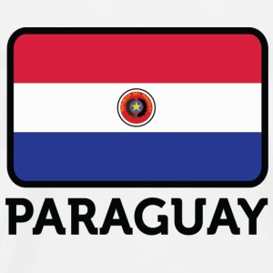 National Flag of Paraguay Bags & Backpacks - Men's Premium T-Shirt