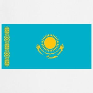 National Flag Kasakhstan T-shirts - Forklæde