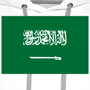 National flag of Saudi Arabia Bags & Backpacks - Men's Premium Hoodie