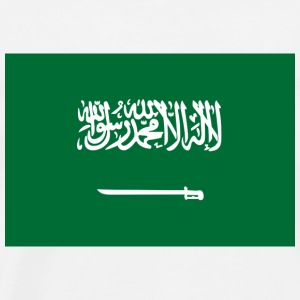 Nationale flag Saudi-Arabien Toppe - Herre premium T-shirt