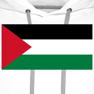 National flag of Palestine T-Shirts - Men's Premium Hoodie