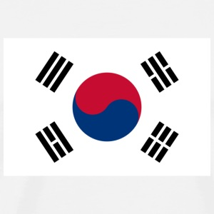 National flag of South Korea Bags & Backpacks - Men's Premium T-Shirt