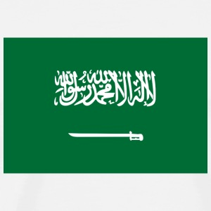National flag of Saudi Arabia Mugs & Drinkware - Men's Premium T-Shirt