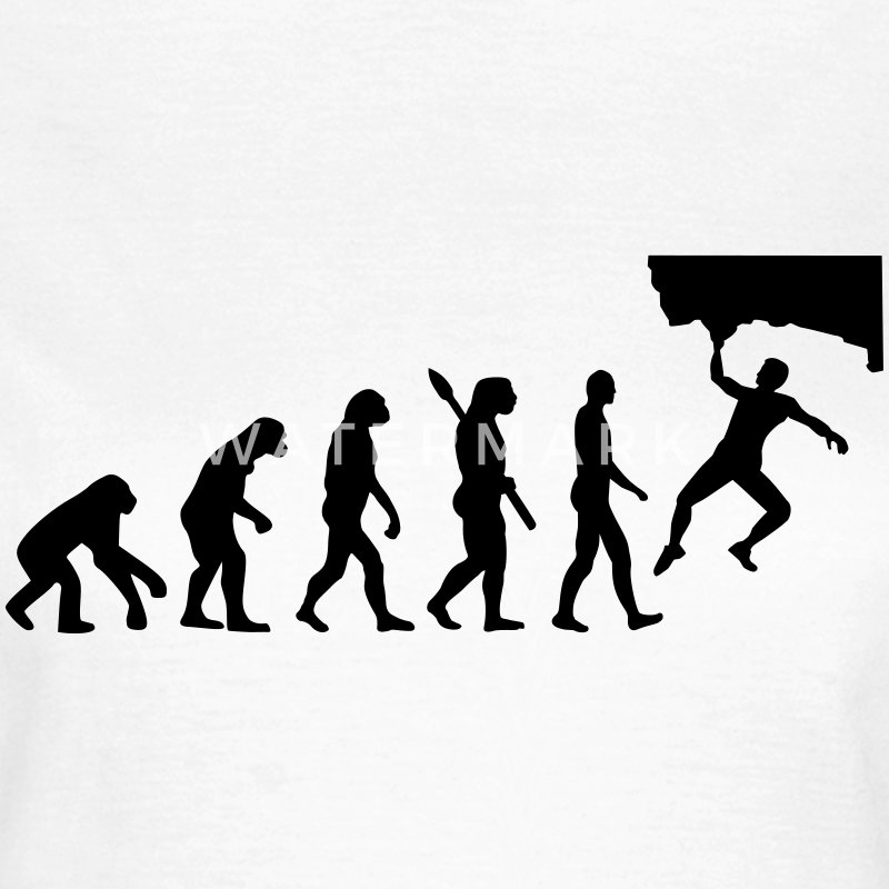 Evolution Bouldern T-Shirts - Frauen T-Shirt