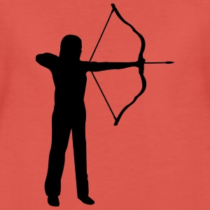 bueskydning - archery, archer - woman Toppe - Dame premium T-shirt