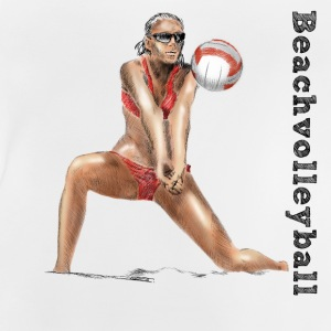 beach volleyball Tee shirts - T-shirt Bébé