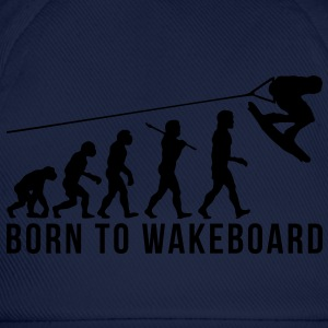 wakeboarding evolution born to wakeboard - Baseball Cap
