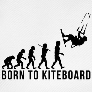 kiteboarding evolution born to kiteboard - Baseball Cap