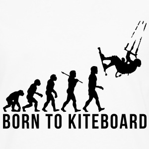 kiteboarding evolution born to kiteboard - Men's Premium Longsleeve Shirt