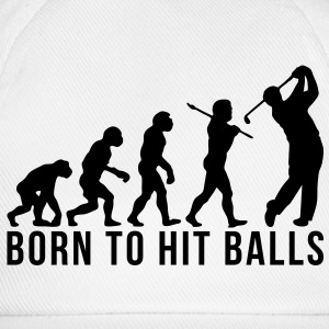 golf evolution born to hit balls - Baseball Cap