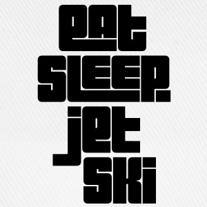 eat sleep jet ski - Baseball Cap
