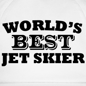 worlds best jet skier - Baseball Cap