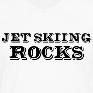 jet skiing rocks - Men's Premium Longsleeve Shirt