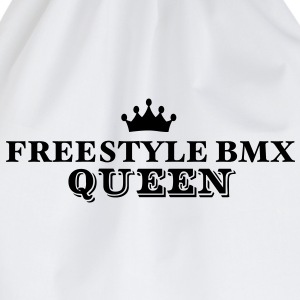 freestyle bmx queen - Drawstring Bag