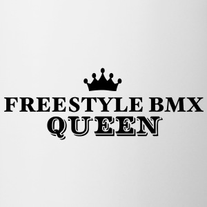 freestyle bmx queen - Mug