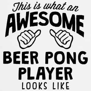 awesome beer pong player looks like - Cooking Apron