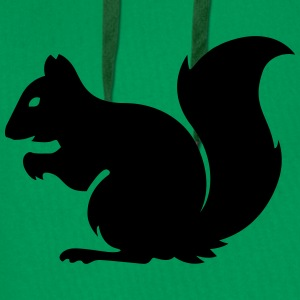 squirrel Shirts - Men's Premium Hoodie