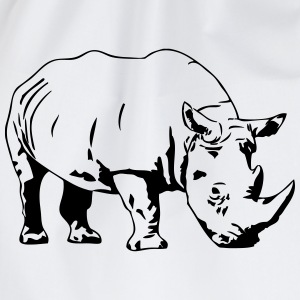 Rhino T-Shirts - Drawstring Bag