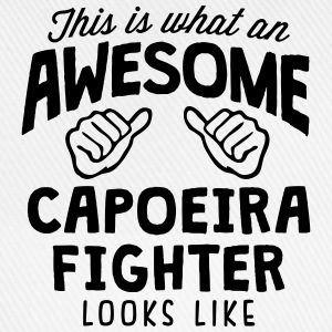 awesome capoeira fighter looks like - Baseball Cap